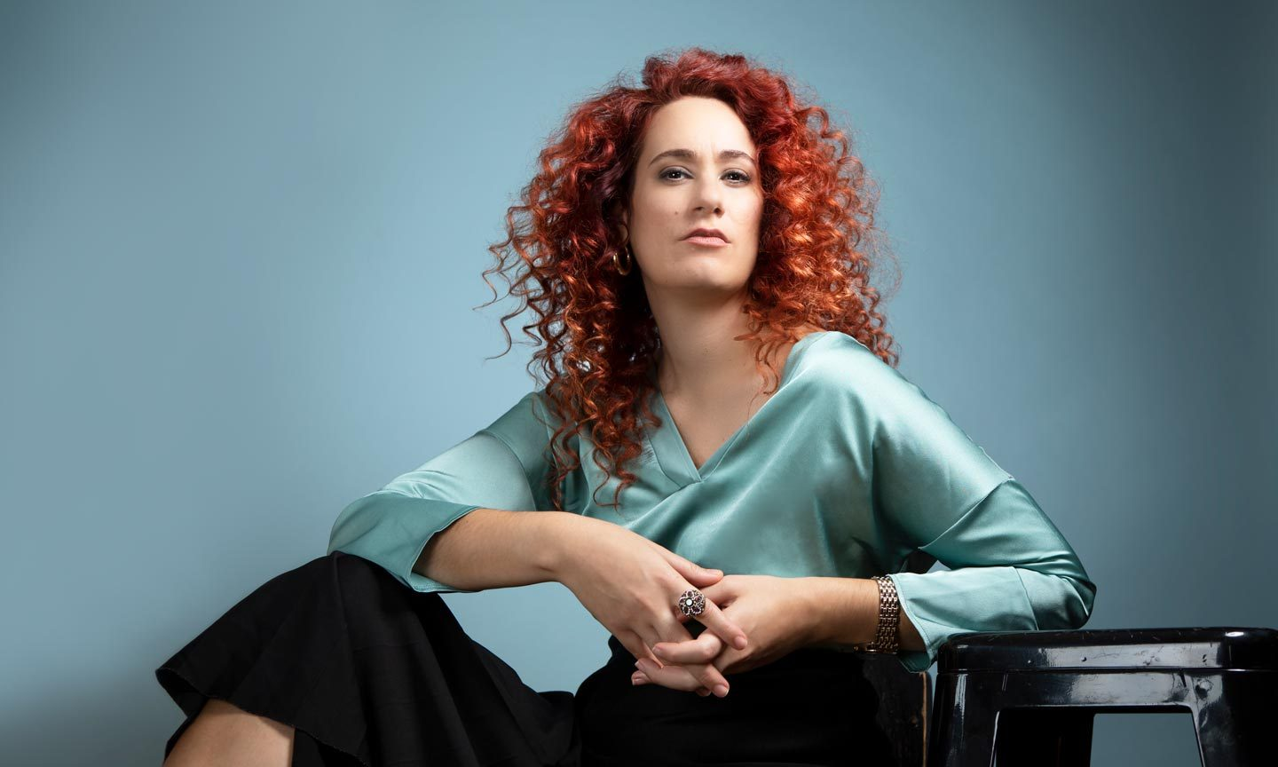 Taxiarchoula Kanati, Mezzo-soprano – Photo by Frances Marshall – Marshall Light Studio